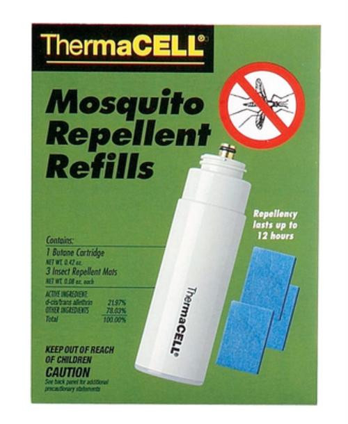 Thermacell RI Mosquito Repellent Refill Butane/Mats Up to 12 hr