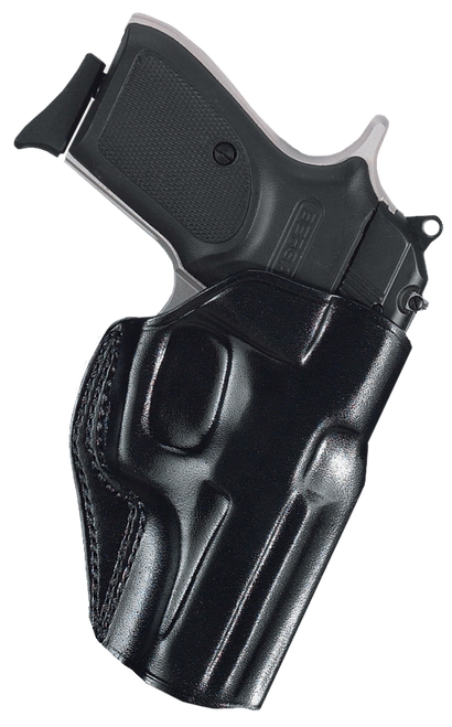 """Galco Stinger Belt Holster S&W J-Frame-36-60-317-337-360-63, 3"""", Right Hand, Black Leather"""