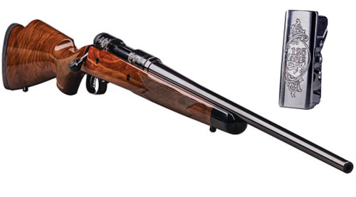 """Savage 110 125th Anniversary 308 22"""" Barrel, AccuTrigger, Black Walnut Monte Carlo Stock, Limited to 1894 Rifles Made"""