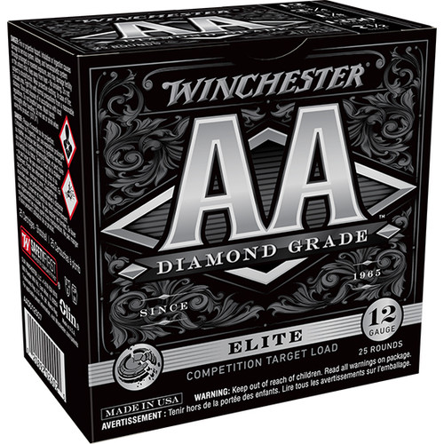"Winchester AA Diamond Grade 12 Ga, 2.75"", 1oz, 7 Shot, 25rd Box"