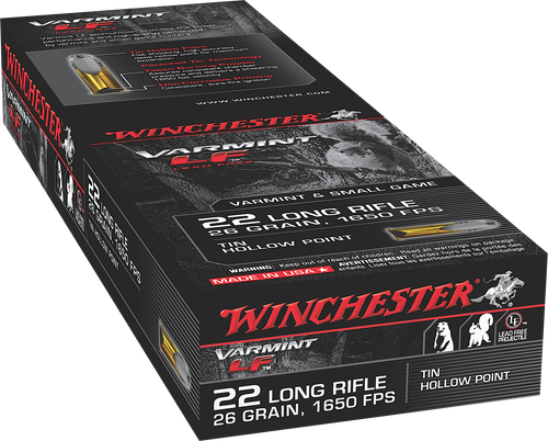 Winchester Super-X 22LR 26gr, Hollow Point, 50rd Box