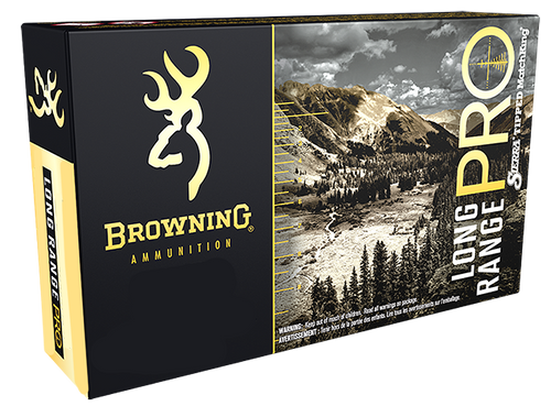 Browning Long Range Pro 300 Win Short Mag 195gr, Sierra MatchKing BTPT, 20rd Box