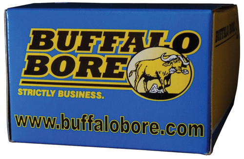 Buffalo Bore Buffalo-Barnes Lead-Free 45-70 Government +P 350gr, Barnes TSX Flat Nose, 20rd Box