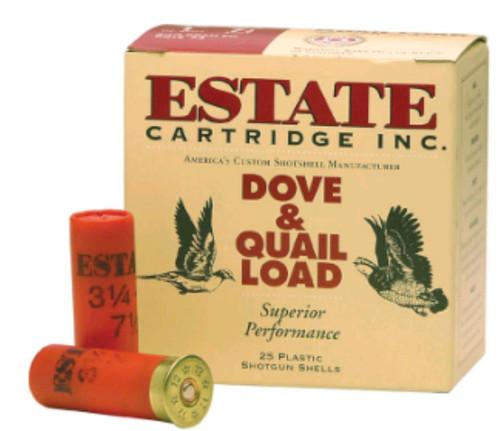 "Estate Cartridge Upland 12 Ga, 2 3/4"", 1220 FPS, 1 1/4oz, 6 Shot, 250rd/Case (10 Boxes/Case)"
