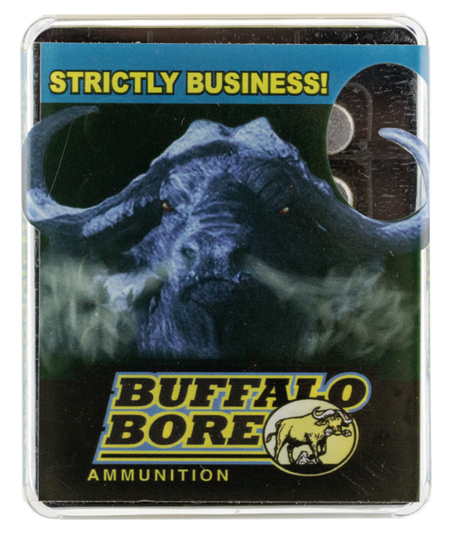 Buffalo Bore Heavy  480 Ruger 370gr, Lead Flat Nose, 20rd Box
