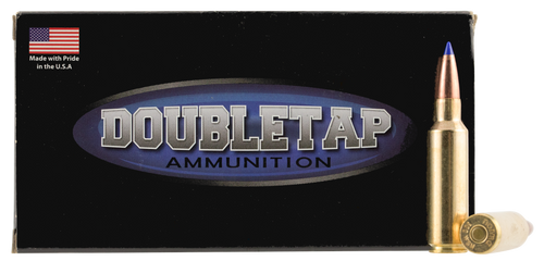 DoubleTap Ammunition Lead Free, 300 Winchester Short Magnum, 175Gr, Solid Copper Tipped Hollow Point, 20rd Box, CA Certified Nonlead Ammunition
