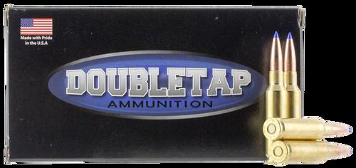 DoubleTap Ammunition Lead Free, 6.5 Creedmoor, 127Gr, LRX Ballistic Tip, 20rd Box, CA Certified Nonlead Ammunition