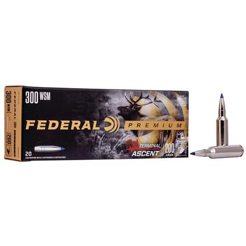 Federal Premium 300 WSM 200gr, Terminal Ascent, 20rd Box