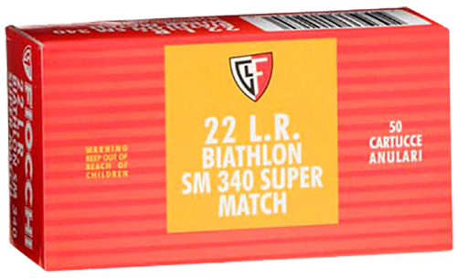 Fiocchi Exacta Super Match 22LR 40gr, Round Nose, 50rd Box