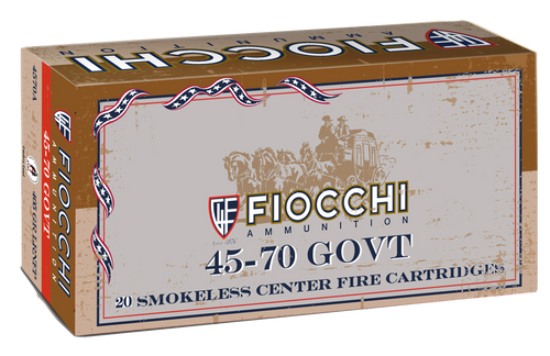 Fiocchi Special 45-70 Government 405gr, Lead Round Nose Flat Point, 20rd Box