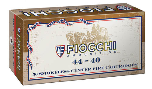 Fiocchi Specialty 44-40 Winchester 210gr, Leaded Nose Flat Point, 50rd Box