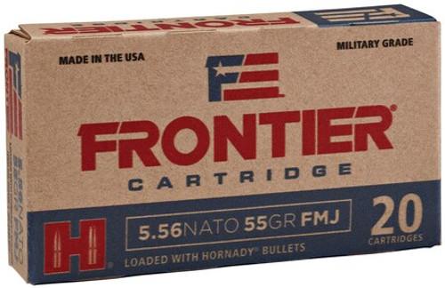 Frontier Cartridge Rifle 5.56mm 55gr, Hollow Point Match, 20rd Box
