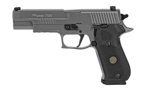 "Sig P220, Legion, Single Action Only, Full Size, 10MM, 5"" Barrel, Alloy Frame, Legion Gray Finish, G10 Grips, Night Sights, 8Rd, 3 Magazines"