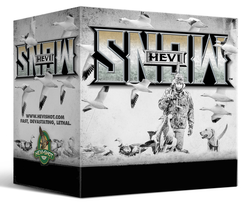 "HEVI-Shot Hevi-Snow 12 Ga 3.50"", 1 3/8oz, 2 Shot, 25rd Box"
