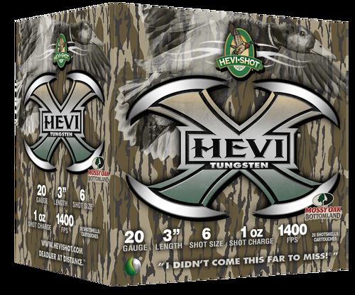 "HEVI-Shot Hevi-X 20 Ga, 3"", 1oz, 6 Shot, 25rd Box"