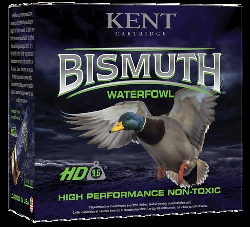 """Kent Cartridge Bismuth Waterfowl 12 Ga, 3.50"""", 1 1/2oz, 3 Shot, 25rd Box"""