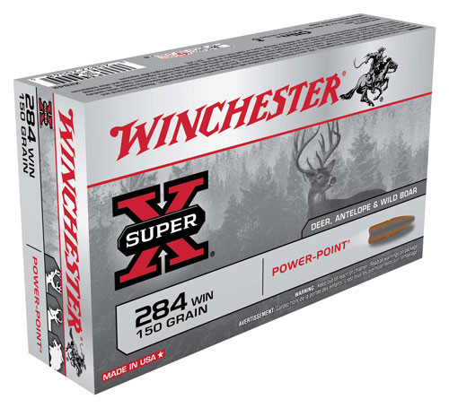 Winchester Super-X .284 Winchester 150gr, Power-Point, 20rd