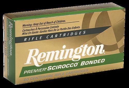 Remington Premier Scirocco Bonded 243 Winchester 90gr, Swift Scirocco Bonded (SSB), 20rd Box