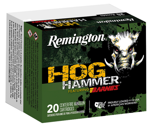 Remington Hogue Hammer 45 Colt 200gr, Barnes XPB, 20rd Box