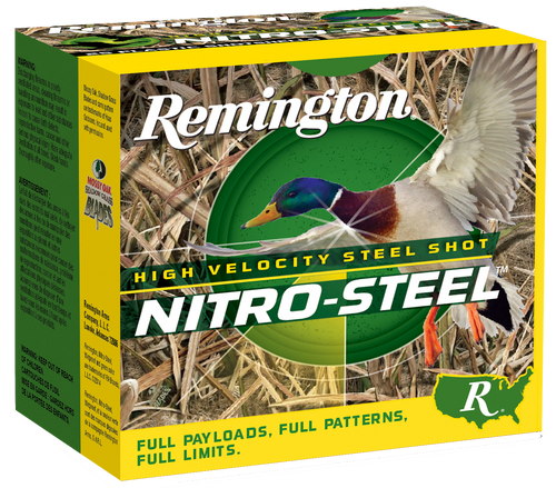 "Remington Nitro Steel 20 Ga, 3"", 1oz, 4 Shot, 25rd Box"