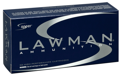 Speer Ammo Lawman Clean Fire 357 Sig 125gr, Total Metal Jacket, 50rd Box