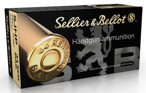 Sellier & Bellot Handgun 44 Remington Mag 240gr, Semi-Jacketed Hollow Point, 50rd Box