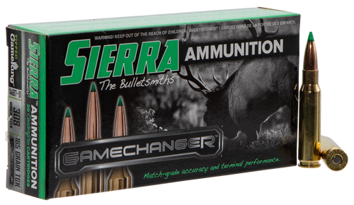 Sierra GameChanger 308 Winchester 165gr, Tipped GameKing, 20rd Box