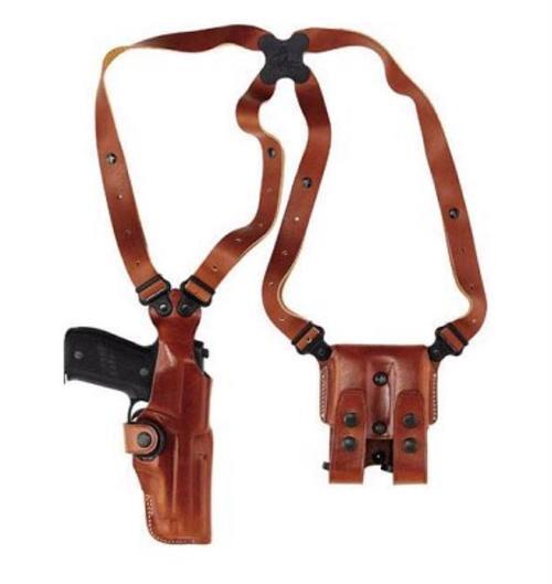Galco Vertical Shoulder Beretta 92, Ambi, Tan