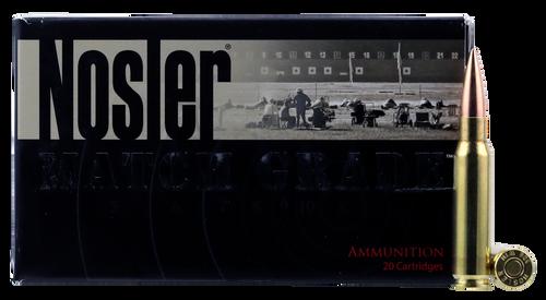 Nosler Match Grade RDF 308 Win/7.62 NATO 175gr, Hollow Point Boat Tail, 20rd Box