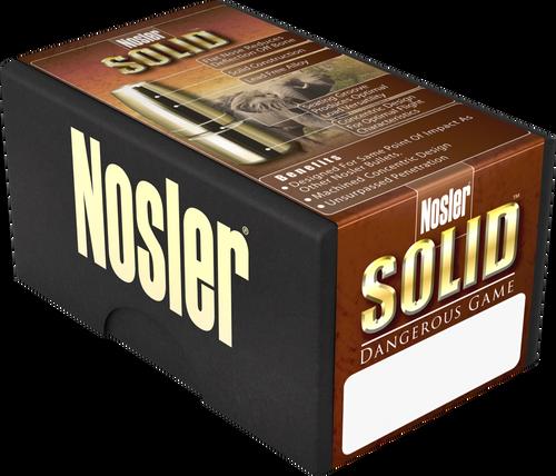 Nosler Safari 458 Winchester Magnum 500gr Nosler Solid, 20rd Box