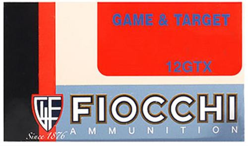 "Fiocchi Game Loads 12 Ga, 2.75"", 1-1/8oz, 7.5 Shot, 25rd/Box"