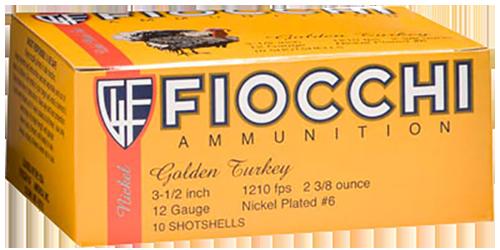 "Fiocchi Extrema Golden Turkey 12 Ga, 3.5"", 2 3/8oz, 4-5 Shot, 10rd Box"