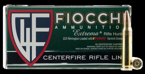 Fiocchi Extrema Leadless 223 Rem/5.56NATO 50gr, Barnes Varmint Grenade, 50rd Box