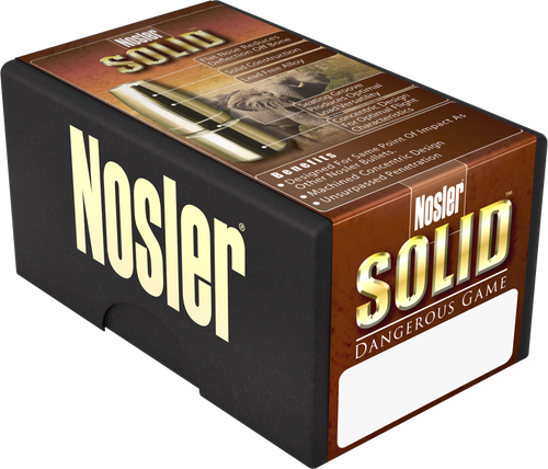 Nosler Safari 375 Holland & Holland Magnum 300gr Nosler Solid 20rd Box