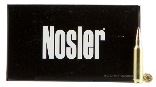 Nosler Match Grade RDF 22 Nosler 70gr, Hollow Point Boat Tail, 20rd Box