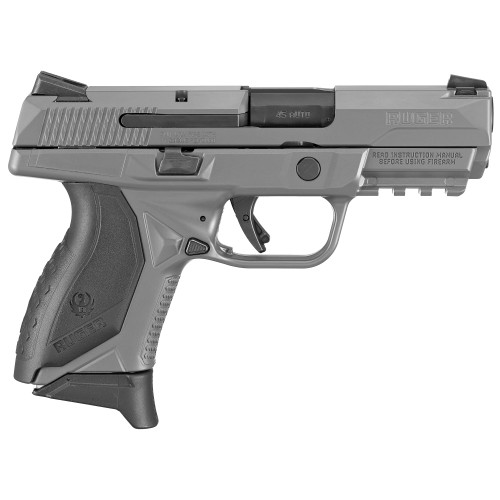 """Ruger American Striker Fired, 45 ACP, 3.75"""" Barrel, No Manual Safety, Polymer Frame, Gray Finish, (3) 7rd Mags, 3 Dot Sights"""