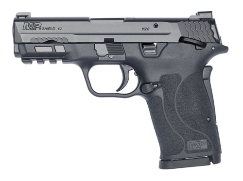 """Smith & Wesson M&P Shield EZ M2.0 Compact 9mm, 3.6"""" Barrel, Black, TrugGlo Pro Night Sights, Grip/Thumb Safety, 8Rd, 2 Magazines"""