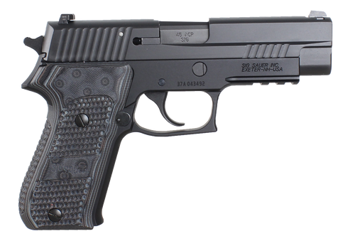 "Sig P220 Extreme 45 ACP 4.4"" Barrel Custom G-10 Grips, Night Sights, 8 Rd Mag"