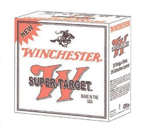 "Winchester Super Target 20 Ga, 2.75"", 7.5 Shot, 7/8oz, 25rd/Box"