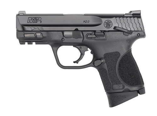 "Smith & Wesson M&P M2.0 Subcompact 9mm, 3.6"" Barrel, Thumb Safety, 3 Dot Sights, 2x10rd Mags, MA Compliant"