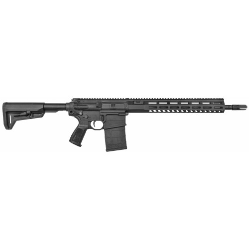 "Sig 716 TREAD 308 Winchester/ 762NATO, 16"" Barrel, Black, Collapsible Stock, M-LOK Handguard, 20Rd, 1 Magazine"