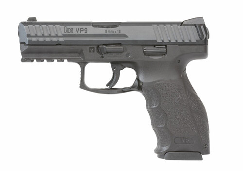 "HK VP9 Standard 9mm, 4"" Barrel, Black, 2x17rd Mags"