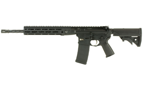 "LWRC IC Direct Impingement AR-15 5.56/223 16"" Threaded Barrel Ni-Corr Treated M-LOK Handguard 6-Position Compact Adj Stock 30 Rd Mag"