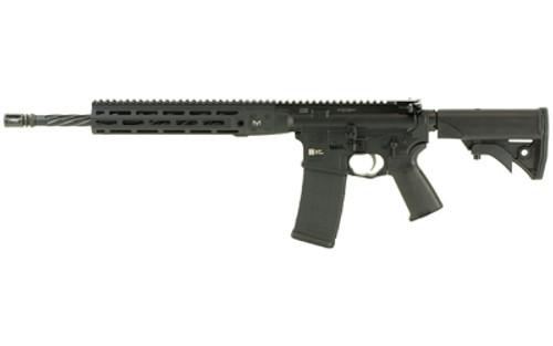 "LWRC IC Direct Impingement AR-15 5.56/223 16"" Threaded Barrel Ni-Corr Treated M-LOK Handguard 6-Position Compact Adj Stock 30 Rd Mag"