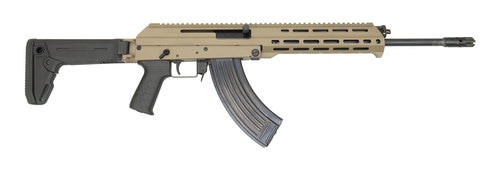 "F.A Cugir M+M M10X AK-47 7.62X39mm 16"" Barrel Magpul Zhukov-S Folding Stock Flat Dark Earth Metal 30rd Mag"
