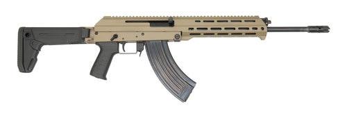 "F.A Cugir M+M M10X AK-47 7.62X39mm 16"" Barrel Magpul Zhukov-S Folding Stock Flat Dark Earth Metal 30rd Mag"
