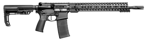 "POF Minuteman Direct Impingement AR-15 350 Legend 16.50"" Barrel, Black Hard Coat Anodized 6 Position MFT Stock, 30rd Mag"