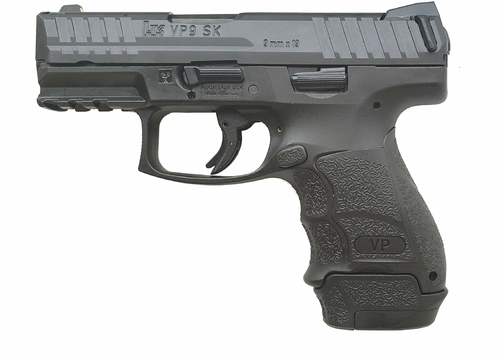 """HK VP9SK-B 9mm, 3.39"""" Barrel, Night Sights, Push Button Safety, 1x 13rd and 2x 10rd Mags"""