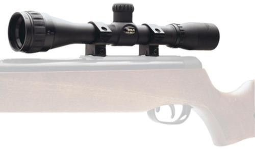 """BSA Air Rifle 4x 32mm 17.8ft@100yds FOV 1"""" Tube Dia Matte Black Duplex"""