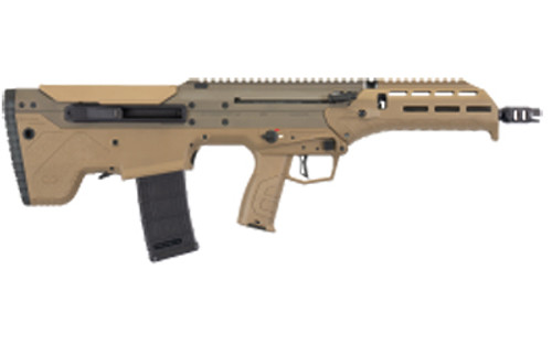 """Desert Tech MDRX Bullpup Rifle, 556NATO/223, 16"""" Barrel, Flat Dark Earth Color. Polymer Stock, Side Eject Version, 30Rd Mag"""